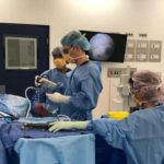 Teaching elbow arthroscopy